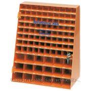 PROJAHN Инструментальный шкаф со спиральными сверлами по металлу в комплекте - 970шт. HSS DIN 388 тип N по 10шт. диам. от 1.0 до 10.0мм с шагом 0.1мм; фото