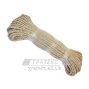 Веревка джутовая д. 10мм /50м.п./ фото