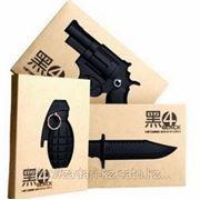 Блокноты «Нож, пистолет, граната» фото