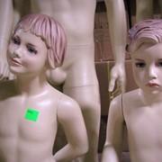 Манекен детский реалистичный в полный рост фото