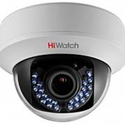 1Мп внутренняя купольная HD-TVI камера с ИК-подсветкой до 30м, вариообъектив 2.8-12мм DS-T107