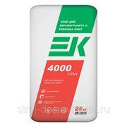 Клей для керамогранита и тяжелых плит ЕК 4000 TITAN (25кг) фото