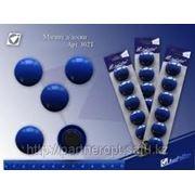 Набор магнитов 6шт. синий d30mm # 302T фото