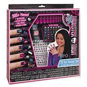 Косметика Monster High Набор накладных ногтей 3D Nail Design Set фото
