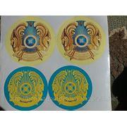 Наклейка. герб фото