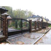 Ворота :сварные и кованые,вьездные,гаражные и прочее фото