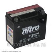 запчасти мото Nitro аккумулятор мото необслуживаемый ytx20-bs фото