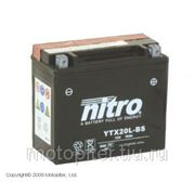 запчасти мото Nitro аккумулятор мото необслуживаемый ytx20l-bs фото
