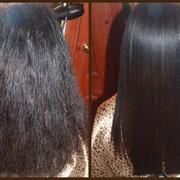 Выпрямление волос кератином фото