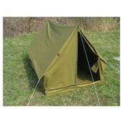 Палатки брезентовые, парусиновые фото