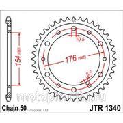 запчасти мото JT звезда задняя (ведомая) для мотоцикла, стальная фото