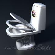 Унитаз-компакт Style 1215 белый ПВ фото
