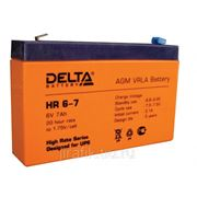 Аккумулятор Delta HR - 6V- 7Ah фото