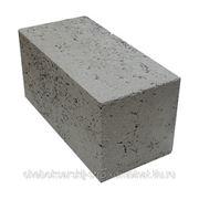 Керамзитобетонный блок 20х20х40 см. полнотелый фото