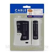 Купить кабельный тестер RJ-45 RJ-11 фото