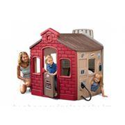 Игровой мульти-домик (спорт, школа, заправка, магазин), розовый