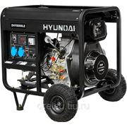 Дизельные генераторы Hyundai DHY 8000 LE фото