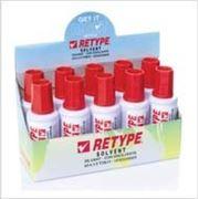 Разбавитель для корректирующей жидкости BS110 Retype Correction Fluid, Solvent Base, 20ml, 1 X 10 фото