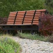 Каменная отделка тропинок в саду фото