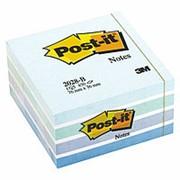 Куб Post-it , 76х76 мм, голубая пастель, 450 л фото