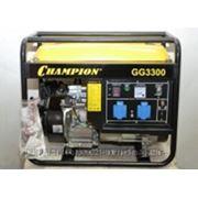 CHAMPION Генератор GG3300 фото