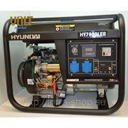 Генератор бензиновый HY 7000LER HYUNDAI RENTAL серии фото