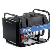 Бензиновый генератор SDMO SH 6000E большой бак 6кВт