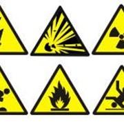 Знаки производственной безопасности (предупреждающие) фото