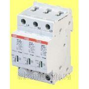 Ограничитель перенапряжений OVR T2 3L 40 275 P TS | SOU2CTB803853R2500 | ABB фото
