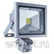 Светодиодный прожектор с датчиком движения (пылевлагазащита) 20 Вт фото