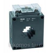 Трансформатор тока ТТИ-30 300/5А 10ВА класс 0,5 ИЭК | арт. ITT20-2-10-0300 фото