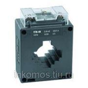 Трансформатор тока ТТИ-60 750/5А 15ВА класс 0,5 ИЭК | арт. ITT40-2-15-0750 фото