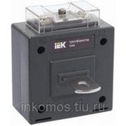Трансформатор тока ТТИ-А 50/5А 5ВА класс 0,5S ИЭК | арт. ITT10-3-05-0050 фото