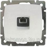 Розетка телефонная Suno RJ11, одинарная, Слоновая кость | арт. 774638 | Legrand