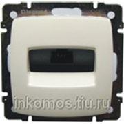 Розетка информационная Suno RJ45 кат.5 UTP, Бежевый | арт. 774872 | Legrand