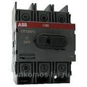 Рубильник OT125M3 (PRO M) до 125А 3х-полюсный на DIN-рейку или монтажную плату | SGC1SCA022429R9140 | ABB фото