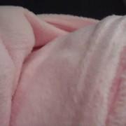 Ткань Флис Розовый фото