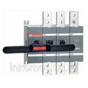 Рубильник OT200E30 до 200А 3-полюсный (без ручки управления)   SGC1SCA022720R0150   ABB фото