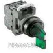 Переключатель M2SS5-21G (длинная ручка) зеленый 2-х позиционный с подсветкой (корпус) с фиксацией | COS1SFA611204R2102 | ABB фото