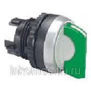 Переключатель Osmoz зеленый 3 положения, возврат 45, подсветка | арт. 24055 | Legrand