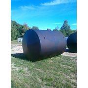 Емкость горизонтальная стальная на 5 м3 (РГС-5) фото