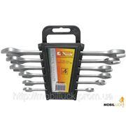 Рожковый и разрезной ключ Intertool HT-1001 Набор рожковых ключей 6шт, 6-17мм фото
