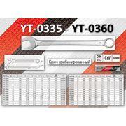 Ключ комбинированный YT-0335 - YT-0360 фото