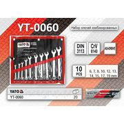 Наборы ключей комбинированных YT-0060 - YT-0075 фото