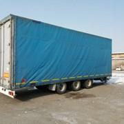 Задние ворота на прицеп, полуприцеп, грузовой авто фото