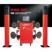 Стенд развал схождения Launch 3D KWA-300 фото