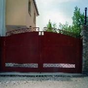 Изготовление металлическиз и кованных ворот, калиток тв Севастополь фото
