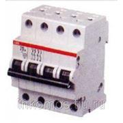 Автоматический выключатель 4-полюсной S204M D 4A | STOS204MD4 | ABB