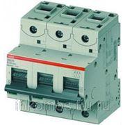 Автоматический выключатель 3-полюсный S803N D100 | CMC2CCS893001R0821 | ABB