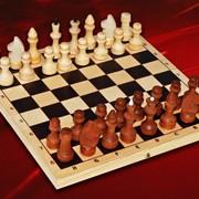 Шахматы парафинированные фото